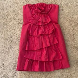 Pink cocktail dress size 8